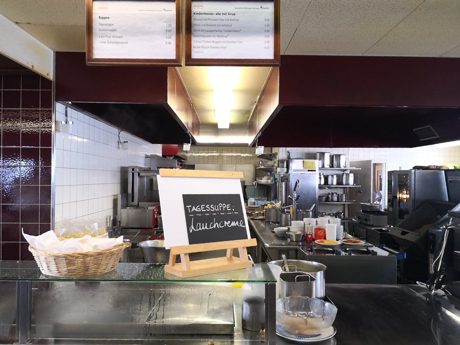 Soup stand at Käserstatt