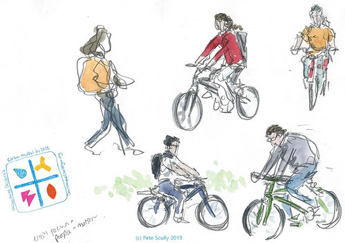 Sketching Sustainability Cyclists April2019 sm | by petescully
