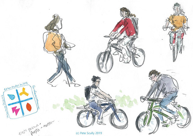 Sketching Sustainability Cyclists April2019 sm
