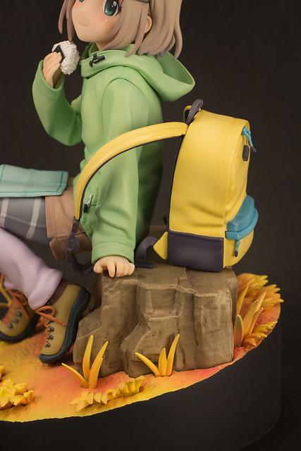 PLUM《前進吧!登山少女》「雪村葵  秋天登山版本 」1/7比例上色完成品!ヤマノススメ サードシーズン あおい (AUTUMN HIKE)