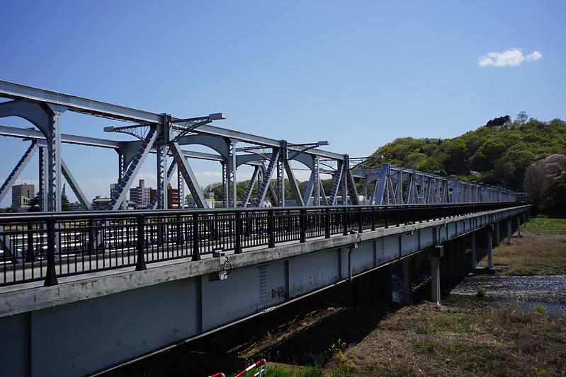 Sony α7Ⅱ+Voigtlander COLOR SKOPAR 21mm F4足利市渡良瀬川土手から見る渡良瀬橋