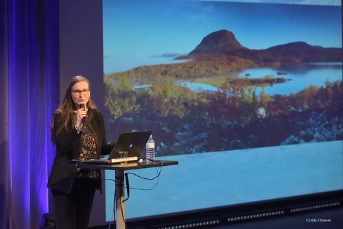 """Stéphanie Lefrère au colloque """"La nature arctique dans un climat d'urgence"""", Cité des Sciences et de l'Industrie   by The Multilayered European"""