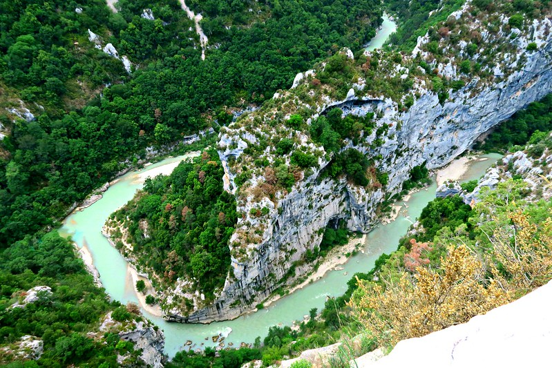 Moutiers Sainte Marie - um dos povoados mais lindos da França