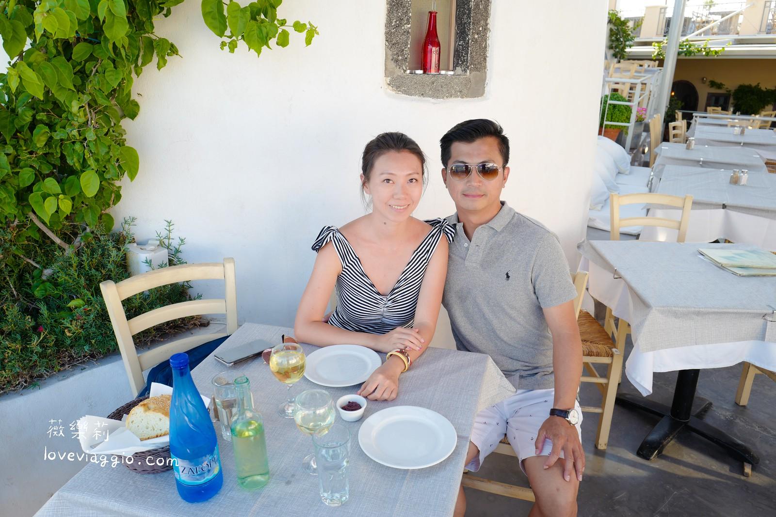 【希臘聖托里尼 Santorini】SKALA 晚餐 伊亞Oia大街海景餐廳 @薇樂莉 Love Viaggio | 旅行.生活.攝影