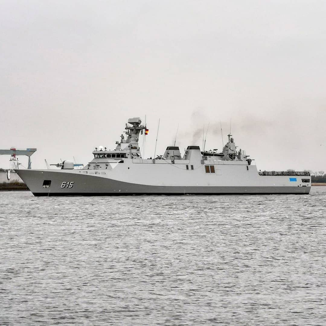 Royal Moroccan Navy Sigma class frigates / Frégates marocaines multimissions Sigma - Page 25 33738292468_2722d24ce3_o