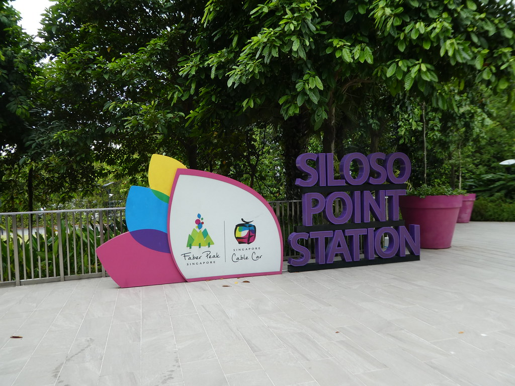 Siloso Point Station, Sentosa Island