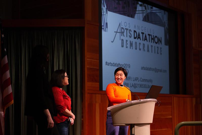 Arts Datathon: Democratize