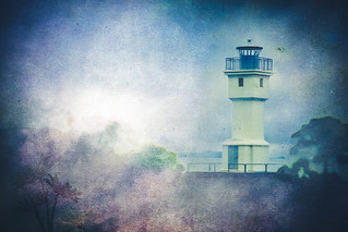 Old Akranes Lighthouse - Vintage Blue | by GBen