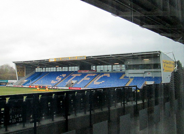 New Meadow Stadium, Shrewsbury, North Stand