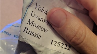 What Did I Get From Russia? Unboxing | by soconaturalhealth