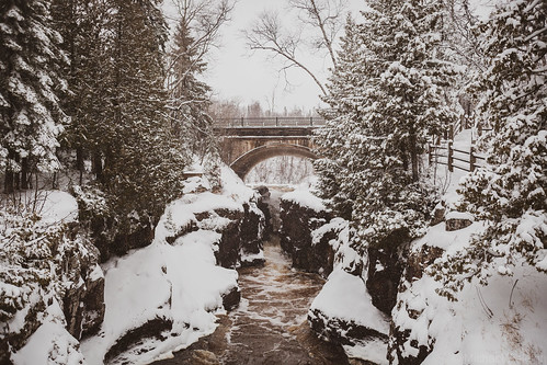 Snow at Temperance River State Park | by michaelraleigh