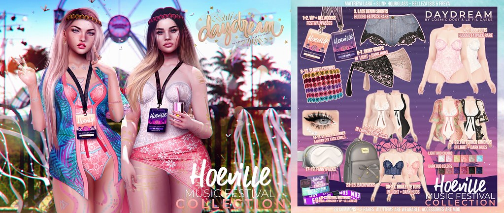 .daydream. Hoeville Music Festival Collection Gacha @ The Epiphany