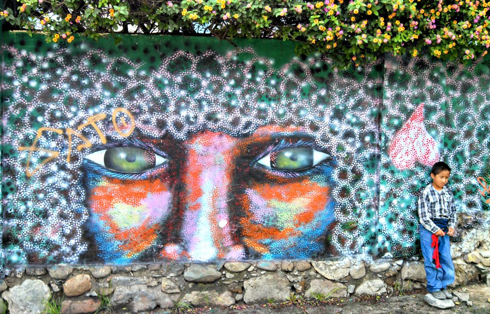 Cuenca Ecuador Street Art