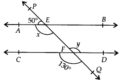 NCERT Solutions for Class 9 Maths Chapter 6 Lines and Angles Ex 6.2 q1