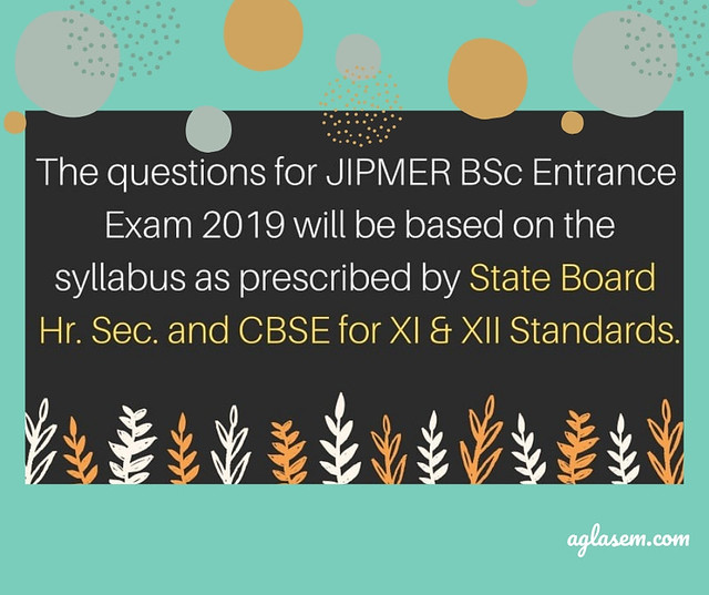 JIPMER BSc Entrance Exam 2019: Result, Counselling, | AglaSem Admission