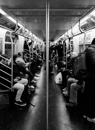 NY subway   by AlexTheJo