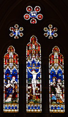 east window: Crucifixion (Clayton & Bell, 1861)