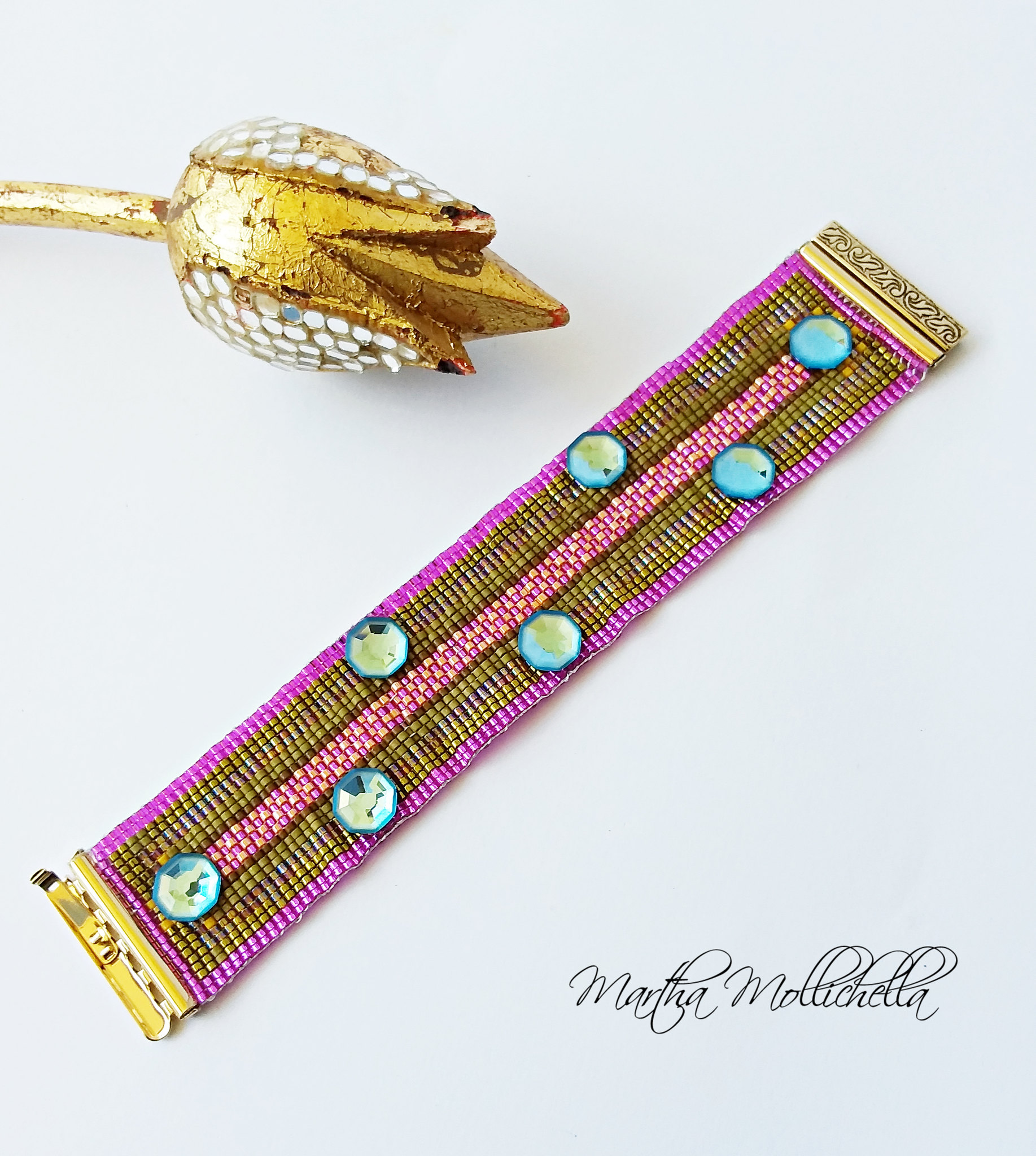 Beadloom Beadslide Clasp Elegant Element