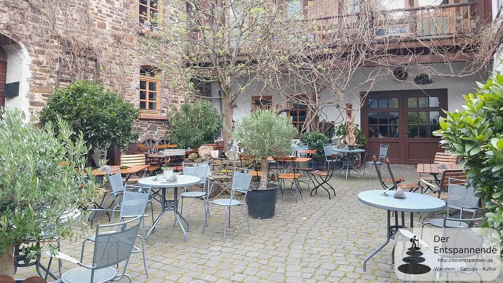 Innenhof Winzerhof Gietzen