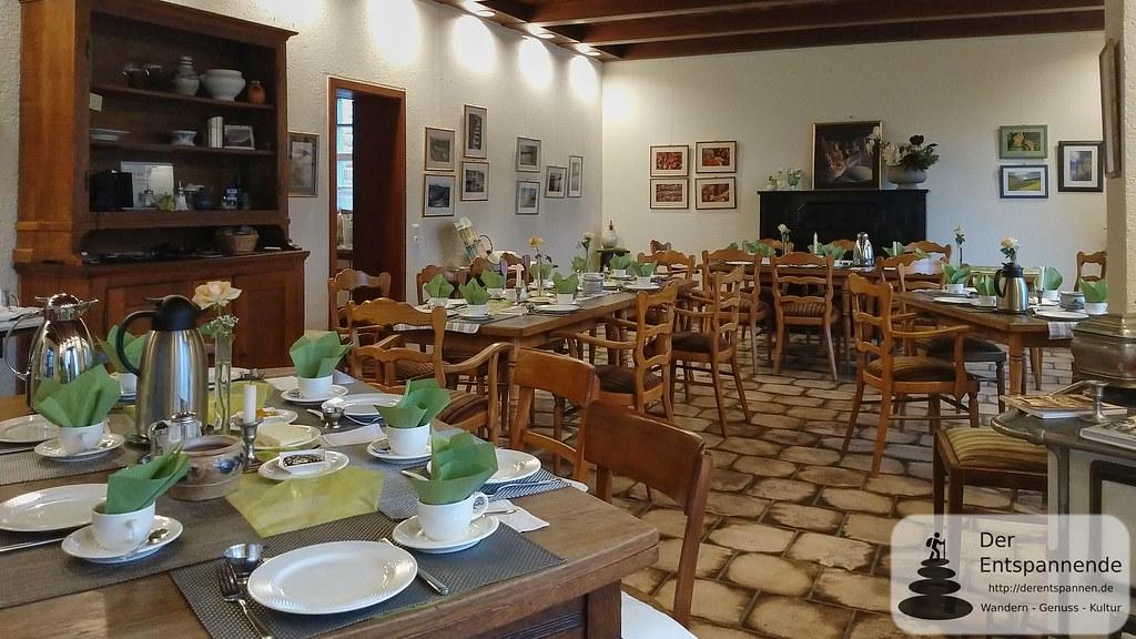 Frühstücksraum Winzerhof Gietzen