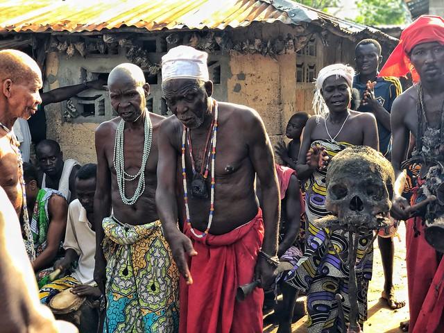 Ceremonia vudú en Benín