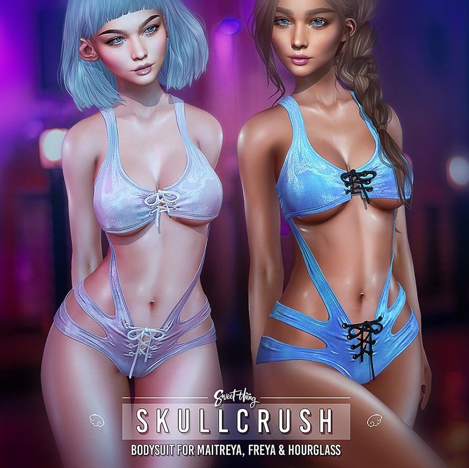 Sweet Thing - The Skullcrush Bodysuit @ equal10 - TeleportHub.com Live!