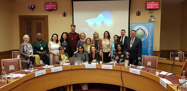 United Kingdom-2019-03-25-International Women's Day Observed in U.K. Parliament