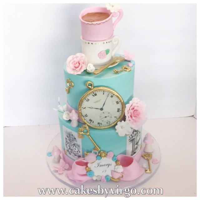 Alice in Wonderland Cake from Cakes by Virgo
