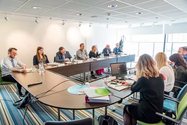 EDDE Steering board members join forces in Brussels for the 1st Steering Board Meeting