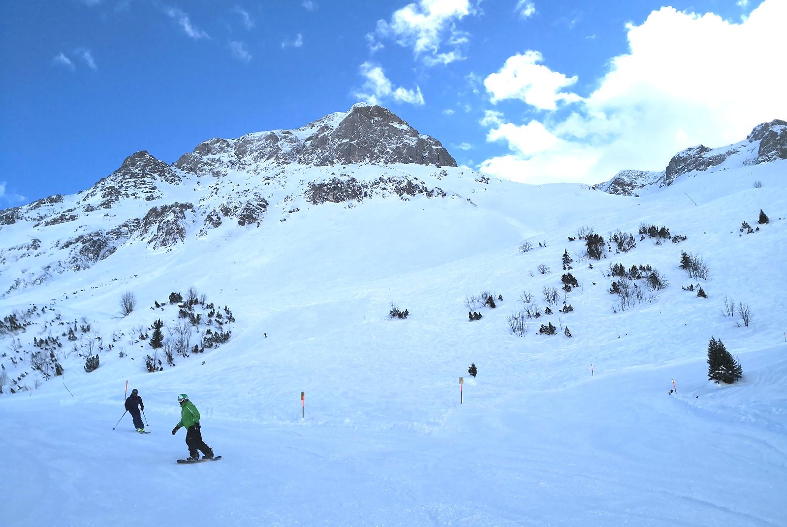Madloch-Zug ski route