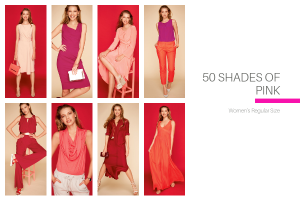 50 Shades of Pink Collection