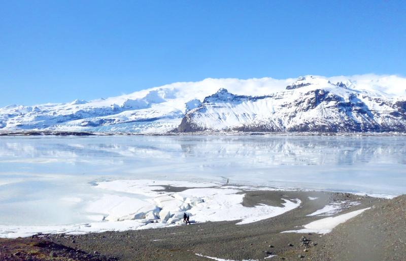 Iceland Vatnajokull ice field
