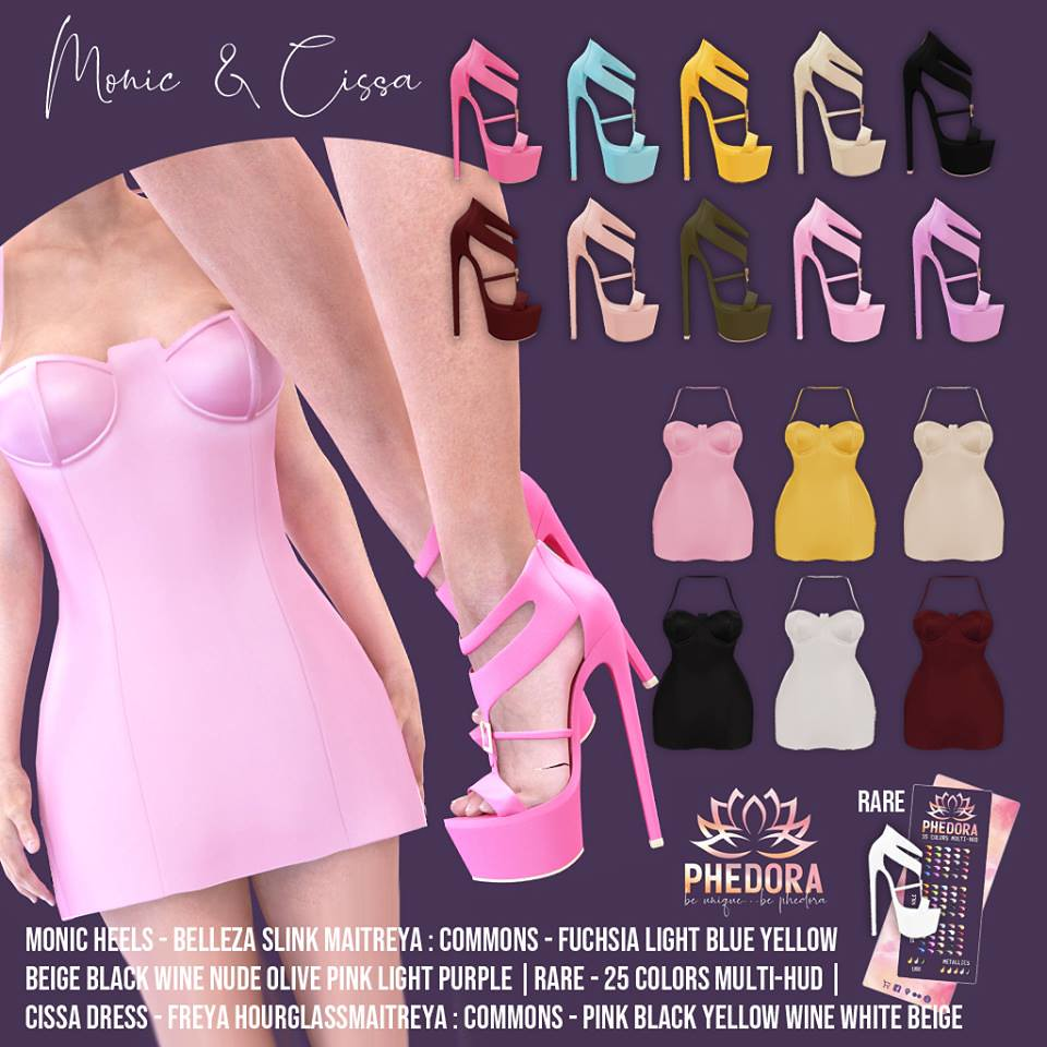 "Phedora. for The Epiphany- ""Monic heels & Cissa dress"" ♥"