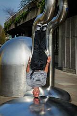 Headstand Yogi-Aram Yoga