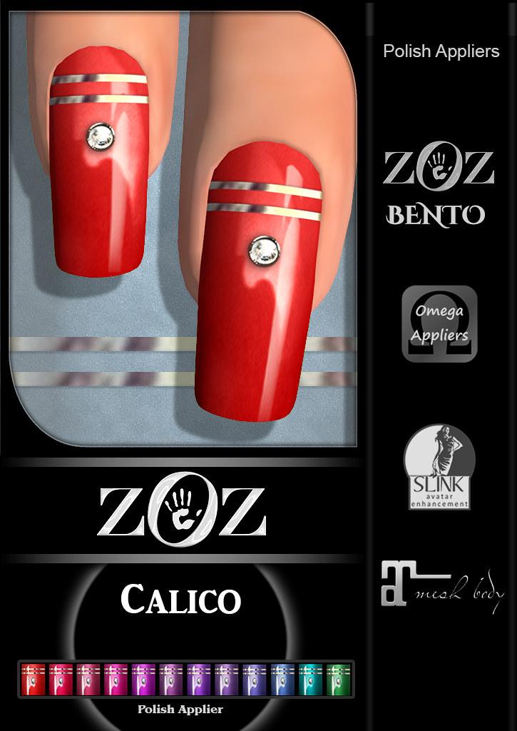 {ZOZ} Calico pix L