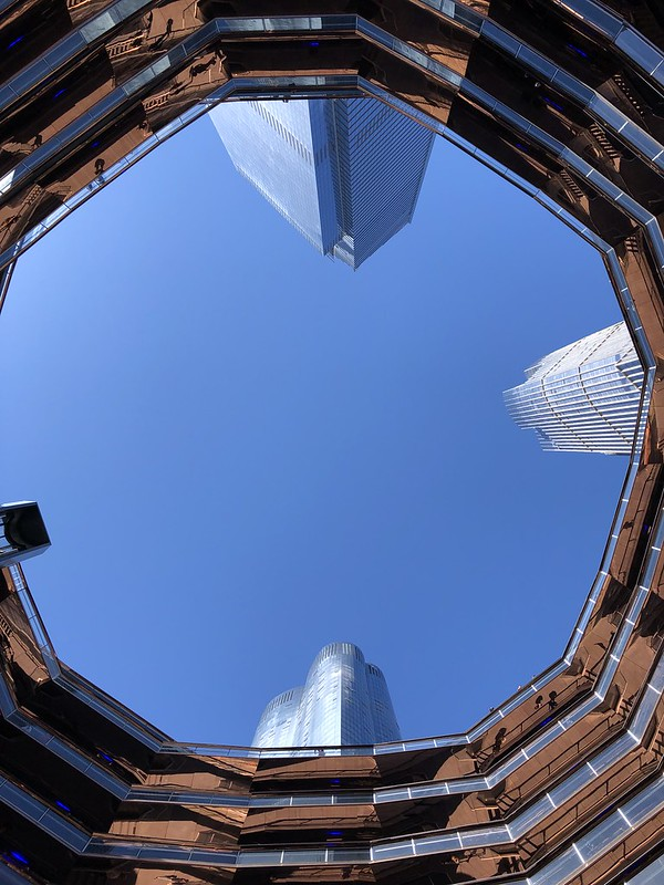 Looking Up From The Vessel