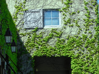 Window over the Passage