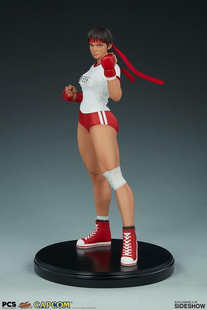 Pop Culture Shock《快打旋風》春日野 櫻 體育服版 Sakura Gym 1/4 比例全身雕像 普通版/EX版