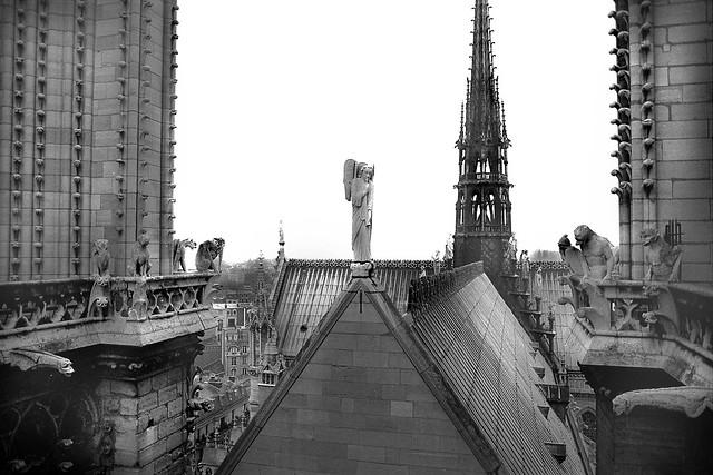 Notre Dame, Paris 1978