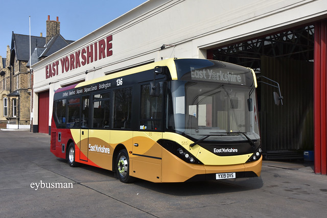 Go Ahead East Yorkshire 515, YX19OVS.