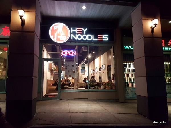 HeyNoodles Richmond Hill storefront