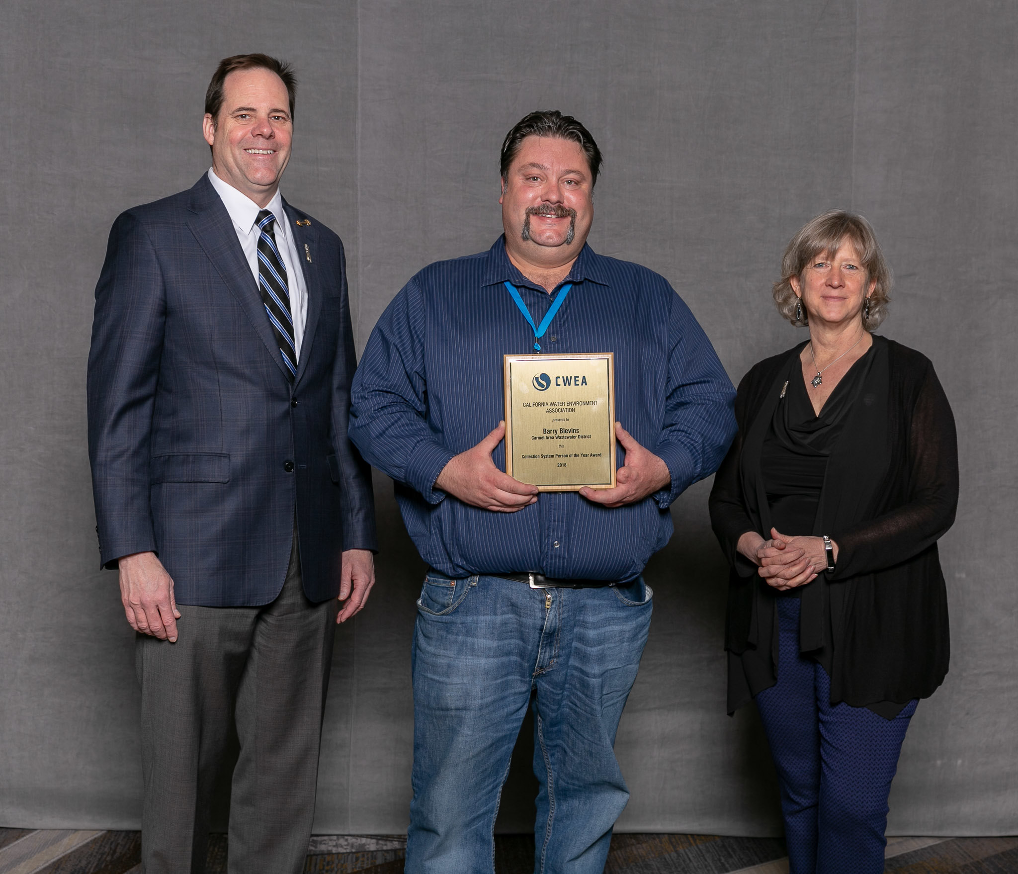 Collection System Person of the Year: Barry Blevins, Carmel Area Wastewater District