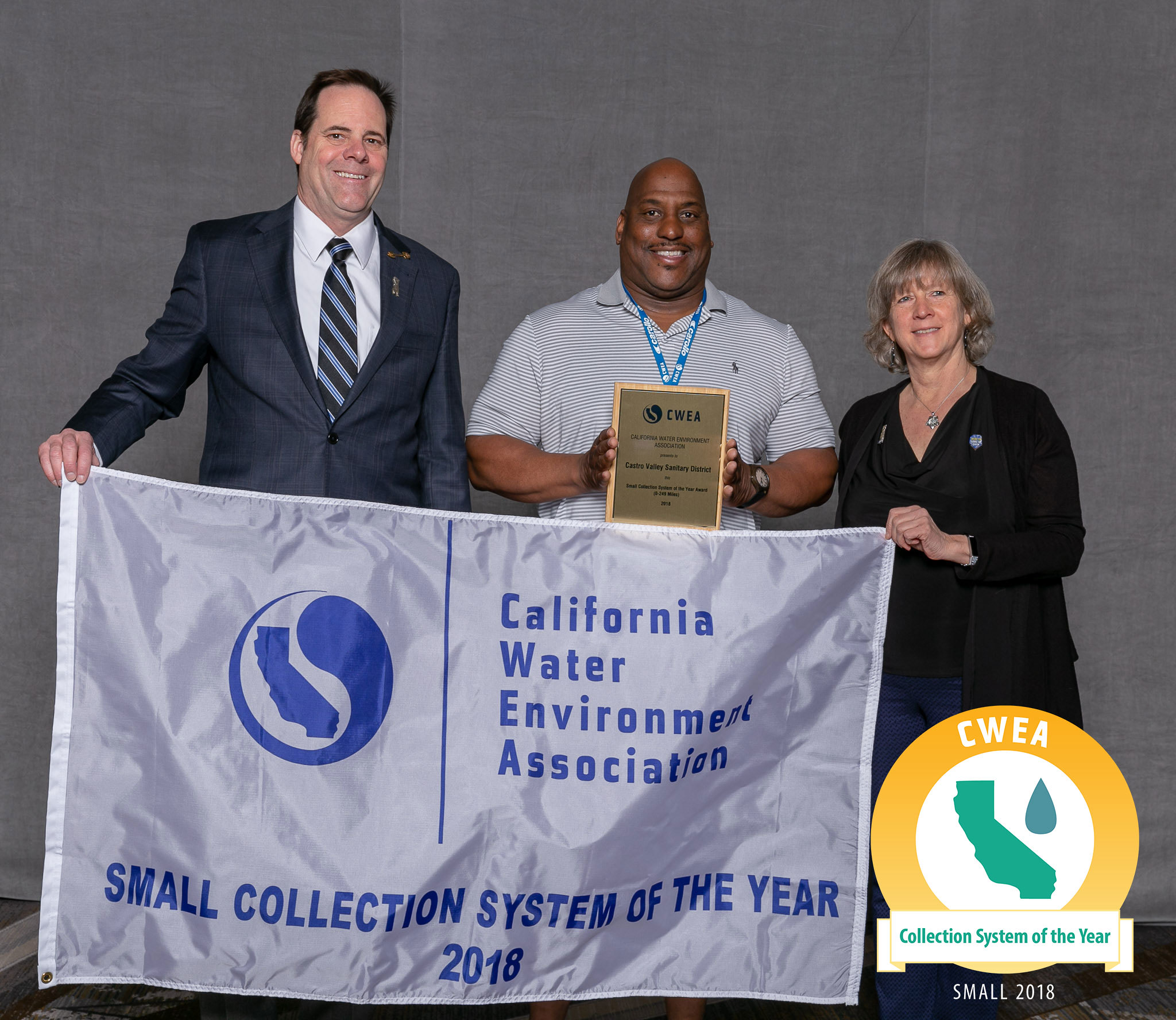 Collection System of the Year Small (0-249 Miles): Castro Valley Sanitary District