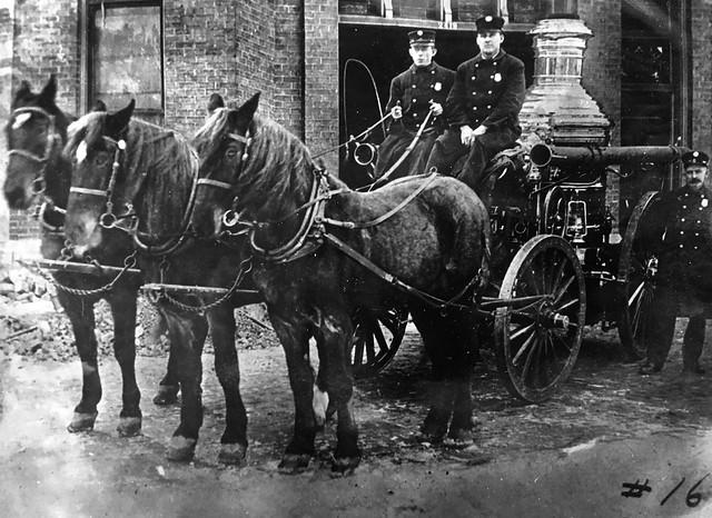 Milwaukee Wisconsin pioneer firefighters