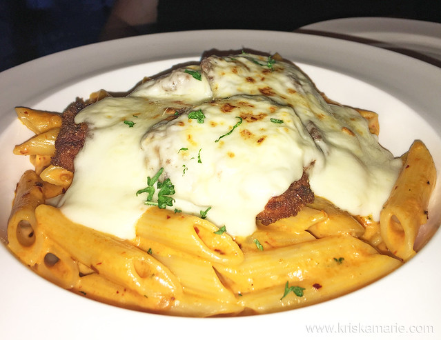 Pasta Escalope from Downtown Cafe
