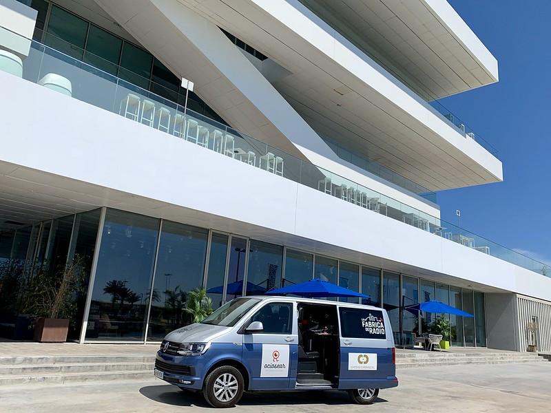 La Fabrica de Radio Veles i Vents la Marina de Valencia