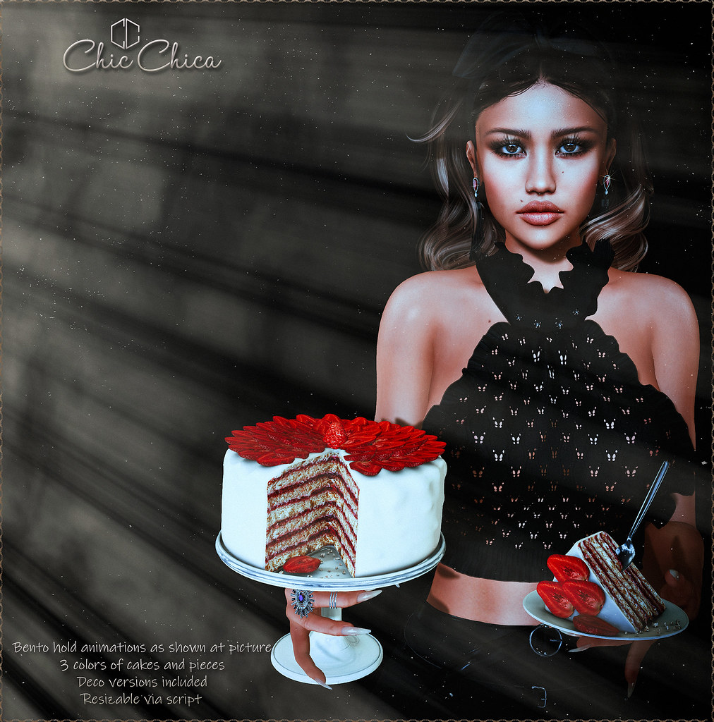 Strawberry  Cake by ChicChica @ Tres Chic - TeleportHub.com Live!
