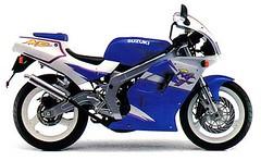 Suzuki RG 125 F Gamma 1996 - 1