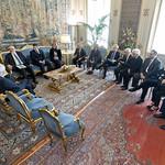 Una delegazione dell'A.M.I. ricevuta oggi 17 aprile al Quirinale dal Capo dello Stato