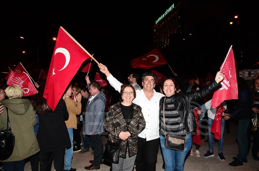 Ekrem İmamoğlu için Alanya'da konvoylu kutlama